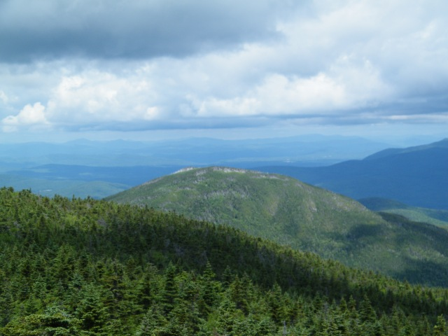 Looking back at Mt. Tom.