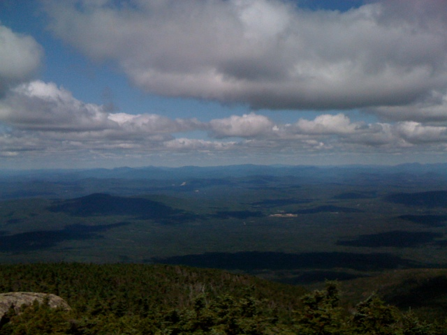 Looking toward Vermont (I think).