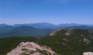 View from the summit of Mt. Chocorua